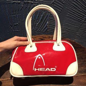 Vintage HEAD brand red bowling bag